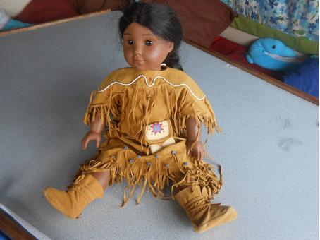 American Girl doll (Kaya)