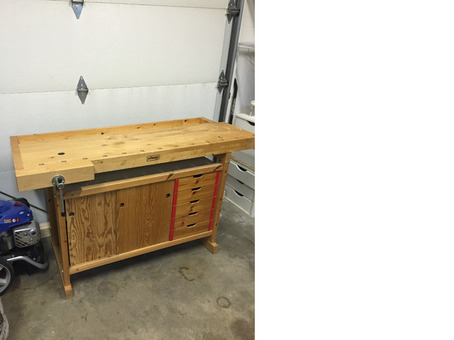 European work bench