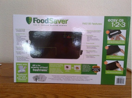 new vacuum food saver and weather station