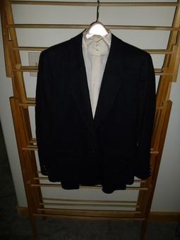 Pendelton black wool suit
